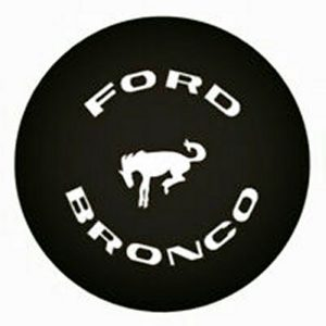 Bronco Aftermarket Replacement Tire Cover 1965-1966