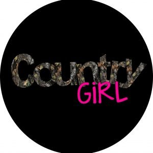 country girl camo art