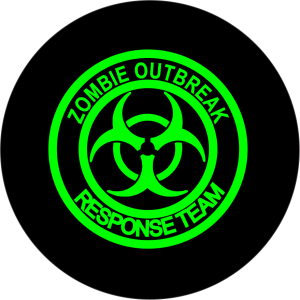 Zombie Outbreak Tire Cover