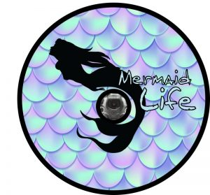 Mermaid Back Up Camera Tire Cover