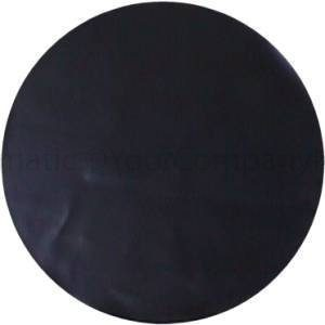 Plain Black Tire Cover