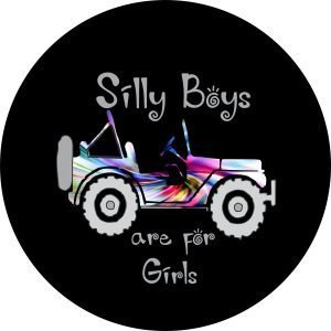 Silly Boys Tire Cover