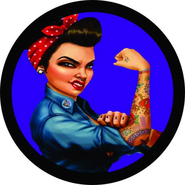 Tough Rosie Tire Cover