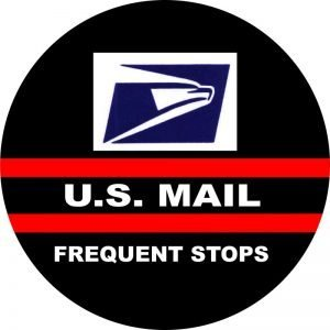 US Mail Tire Cover