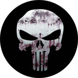 punisher/tromitzer tire cover