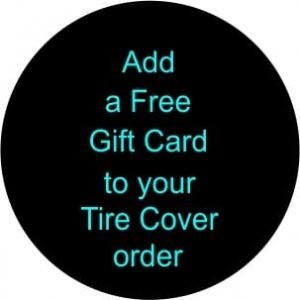 Add a Gift Card Tire Cover