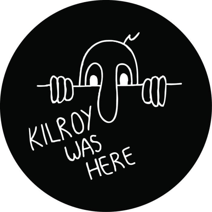 Kilroy Was Here Tire Cover
