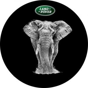 Land Rover Elephant Tire Cover