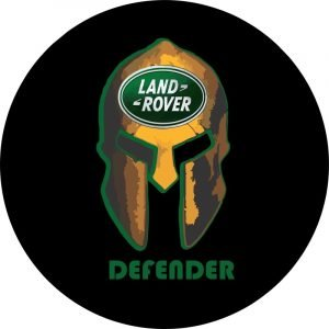 Land Rover Defender Helmet Tire Cover