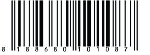 Bat Man Bar Code