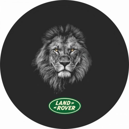 Land Rover Africa Lion Tire Cover