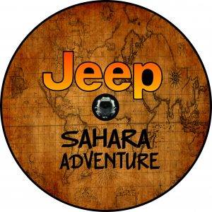 Sahara Jeep Import Tire Cover