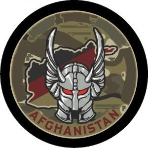 Afghanistan Tire Cover