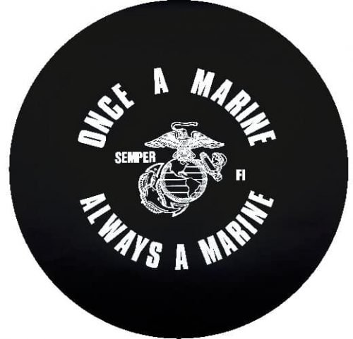 Once a Marine Tire Cover