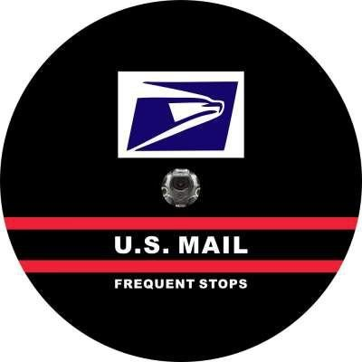 US Mail Carrier Tire Cover