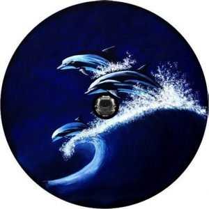 Racing Dolphins Tire Cover