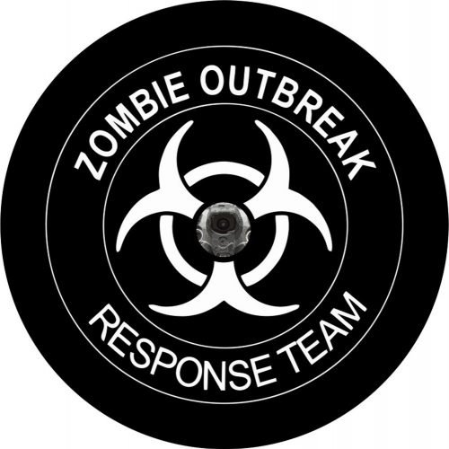 Zombie Outbreak Back Up Camera Tire Cover