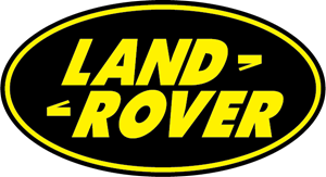 land rover decal-blk/yell